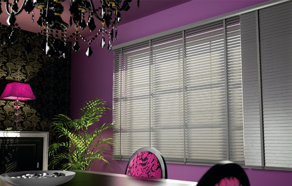 Abachi Venetian Blind - Express Collection with 2 inch or 2 1/2 inch slats and Solid Twill Tape Ladders