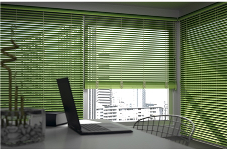 Abachi Venetian Blind with 2 inch or 2 1/2 inch slats